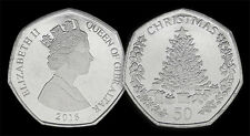 50 Pence Gibraltar Xmas 2016 Christmas 50p UNCIRCULATED NEW!