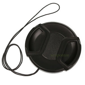 40.5mm Front Lens Cap Cover for Canon Nikon Sony Pentax Fuji Olympus Tamron Lens