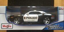 1:18 Maisto Dodge Challenger Concept American Muscle Sport Super Auto della polizia (1)