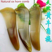 NATURAL OX HORN COMB , HEALTH BENEFITS HORN COMB NO STATIC