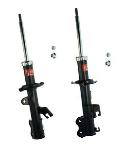 2 KYB Front LEFT+RIGHT Struts Shocks Absorbers Damper Assembly for Nissan Versa