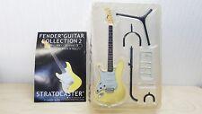 F-Toys 1/8 Guitar Fender 1968 STRATOCASTER Left Hand Olympic White model figure