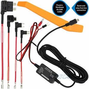 Hard Wire Dash Car Cam Camera Kit For Nextbase 112 212 312 402G 412 512GW HDDUO