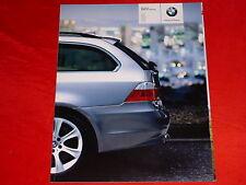 BMW 5er E61 Touring 525i 545i 525d 530d 535d Prospekt von 2004