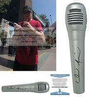 Jerrod Niemann Signed Autograph Microphone Mic Proof Beckett BAS Certified COA