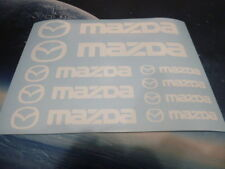Mazda Emblems / Stickers / Decals - assortment, 9 total