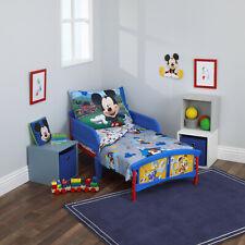 4-Piece Mickey Mouse Having Fun Toddler Bedding Set
