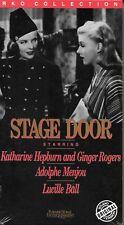 STAGE DOOR (VHS), Katherine Hepburn & Ginger Rogers