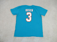 Miami Dolphins Shirt Adult Large Green White Josh Rosen NFL Football Men A49*