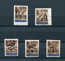 1936.ESPAÑA.BARCELONA.EDIFIL NE17/21**.NUEVOS SIN FIJASELLOS.(MNH).CAT.200€