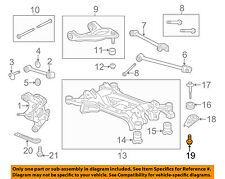 ACURA HONDA OEM Front Suspension-Front Support Bolt Left 90176SDAA00