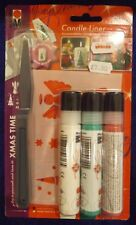 Christmas Candle Painting Kit by Marabou (1)