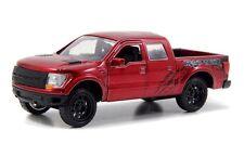 JADA 1:32 DISPLAY JUST TRUCKS 2011 FORD F-150 SVT RAPTO Diecast Pickup Truck Red