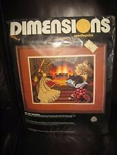 1987 Dimensions Needlepoint Kit By The Hearth # 2326 Sealed
