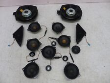 09-11 BMW F01 F02 750i Top HiFi Speaker Set OEM