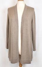 J JILL 100% Cashmere Open Front Cardigan Sweater M Petite