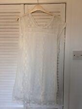 Sheilay Mini Dress In White Medium Size