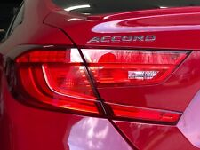 Crux Moto Tail Light Tint Overlay Red Small Reverse Cut fits Accord 2018 - 2020
