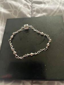 Pandora 5 Clip Charm Bracelet