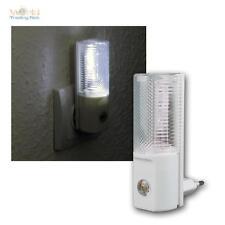 LED luce Notte,3 LEDs,Tag/notte Sensore,per 230V Presa di corrente,