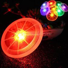 LED leuchten Colors Fliegen-Scheibe Spielzeug für draußen Camping Frisbee