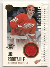 Luc Robitaille 02-03 Pacific Calder Authentic Game Worn Jersey