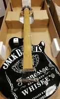RARE New in box Jack Daniel's Promotional Black Guitar Peavey with carrying case
