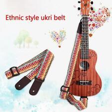 Exquisite Priting Ukulele Hawaii Guitar Strap Belt Musical Instrument Parts