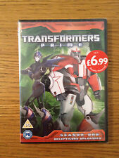 BRAND NEW SEALED Transformers Prime Season 1 Decepticons Unleashed DVD