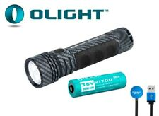 New Olight Seeker 2 Pro ( Carbon Fiber ) Cree XP-L HD 3200Lumens LED Flashlight
