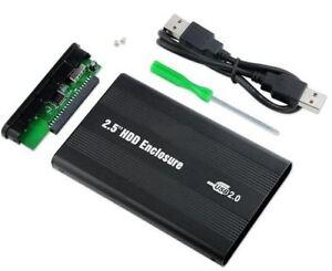 """Case per HDD 2.5"""" hardisk IDE usb cover box contenitore PC esterno hard disk usb"""