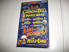 More details for small 1987/88 pantomime poster (london palladium, cannon & ball, barbara windsor