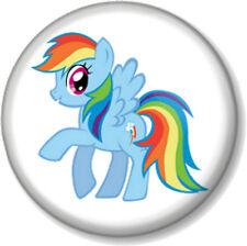 Unicorn Rainbow Dash 25mm Pin Button Badge My Little Pony Fairy tale Cute Kawaii