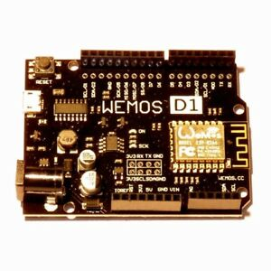 ESP8266 Wemos D1 R2 V2.1  - WiFi in a UNO Compatible form factor