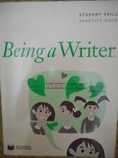 Being a Writer Student Skill Practice Book Grade 2 by Developmental Studies...