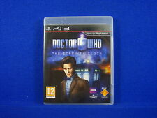 ps3 DOCTOR WHO The Eternity Clock An Epic Action Adventure PAL UK REGION FREE