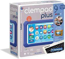 Clementoni Clempad 9 Plus Tablet per Bambini - Bianco