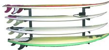 Reef Raxs surfboard wall rack quad 4 boards longboards  sup - Aluminum ARMS