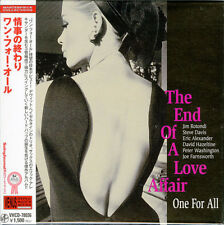 ONE FOR ALL-THE END OF A LOVE AFFAIR-JAPAN MINI LP CD C75
