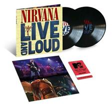 Nirvana Live And Loud LP New Limited 2019 Double 180g Vinyl w/Replica Pass NEW