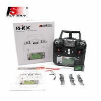 Flysky FS-i6X 2.4GHz 10Channels AFHDS RC Transmitter w/ iA10B Receiver #FS-i6X