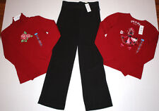 NWT Girls The Children's Place 2 Shirts & Pants Lot 7/8