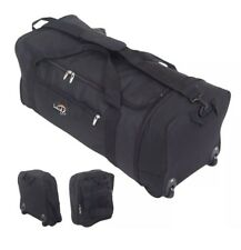 Travel Bags Luggage with Wheels Extra Large Rolling Folding Folds Compact NEW