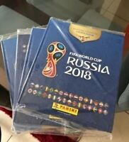 PANINI RUSSIA 2018 HARD COVER BLUE EDITION WITH ALL LOOSE STICKERS