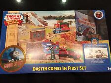 Thomas & Friends Wooden Railway Dustin Comes in First Train Set 65% Off Retail!