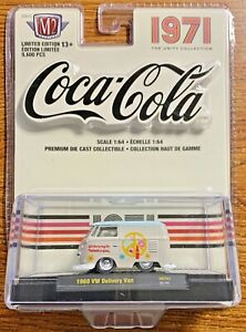 M2 Machines Coca-Cola 1971 Unity Collection VW Delivery Van #UNTY01 1:64 Scale