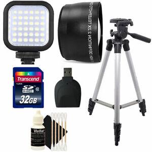 58mm Telephoto Lens Accessory Kit for CANON EOS Rebel T7i T6i Nikon D3500 D5600