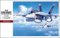 1/48 U.S.Navy F/A-18F Super Hornet Hasegawa Plastic Model Kit New
