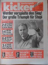 KICKER 85-21.10. 1993 Athen-Leverkusen 1:4 Valencia-Karlsruhe 3:1 Bayern-Norwich