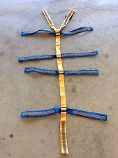 Backboard Color Coded Spider Straps 11 Point Spinal Immobilization Spine Board